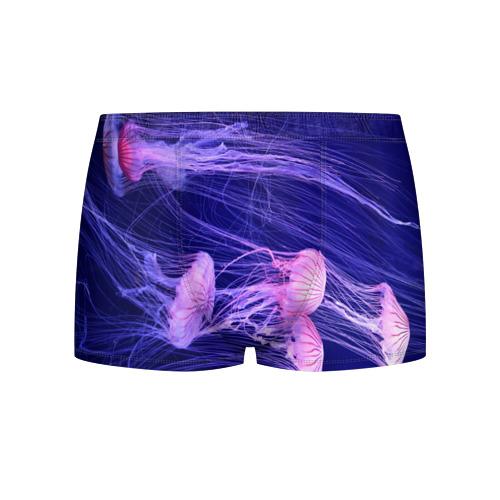 Мужские трусы 3D Розовые медузы Фото 01