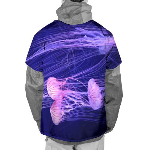 Накидка на куртку 3D  Фото 02, Розовые медузы