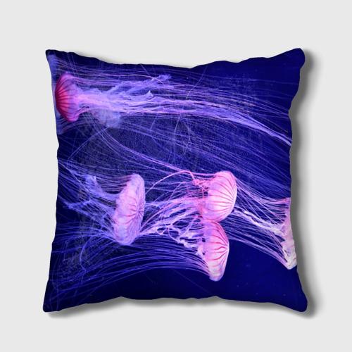Розовые медузы