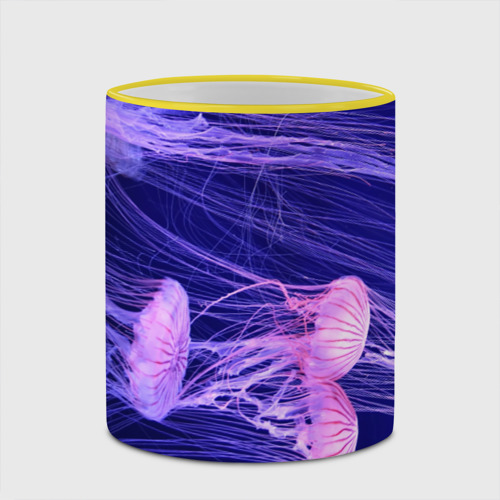 Кружка с полной запечаткой  Фото 03, Розовые медузы
