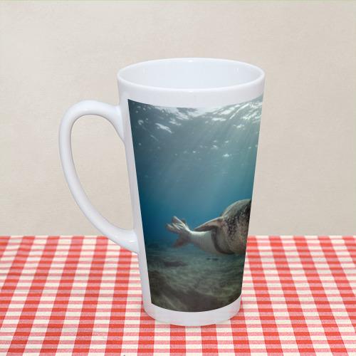 Кружка Латте  Фото 04, Тюлень под водой