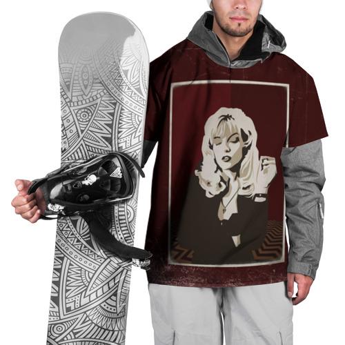 Накидка на куртку 3D  Фото 01, Twin Peaks