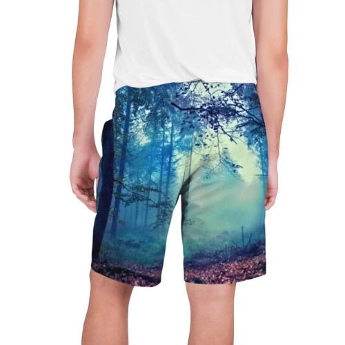 Мужские шорты 3D  Фото 02, Лес