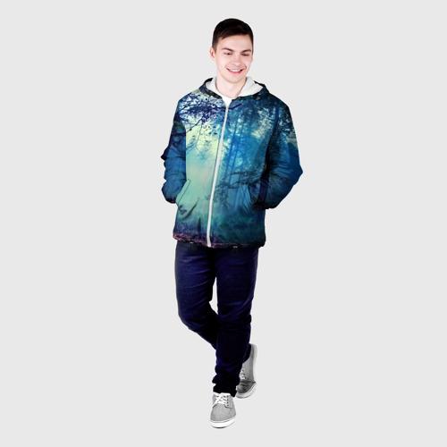 Мужская куртка 3D  Фото 03, Лес