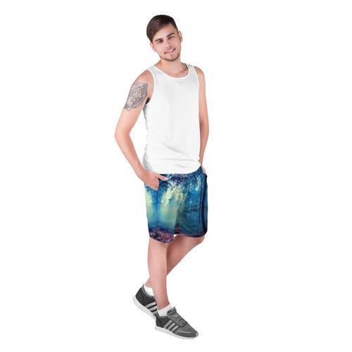 Мужские шорты 3D  Фото 03, Лес
