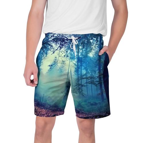 Мужские шорты 3D  Фото 01, Лес