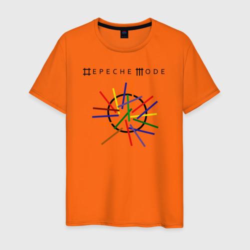 Мужская футболка хлопок Depeche mode (светлая) Фото 01