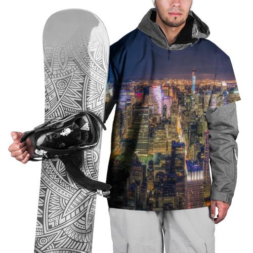 Накидка на куртку 3D  Фото 01, Ночной город 3