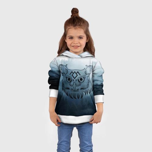 Детская толстовка 3D  Фото 01, Twin Peaks Совы