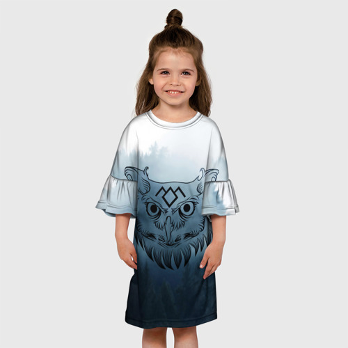Детское платье 3D  Фото 01, Twin Peaks Совы