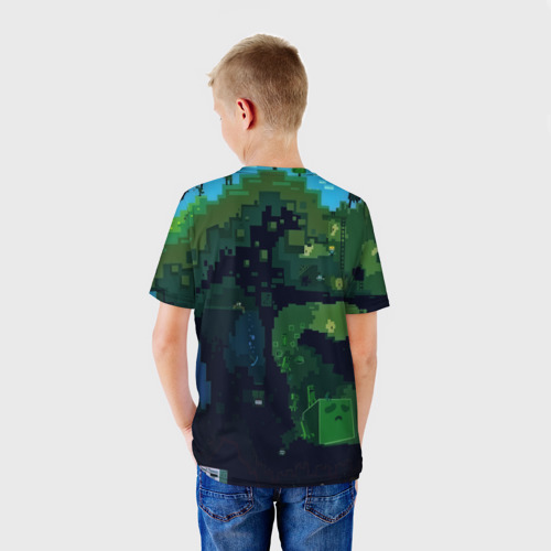 Детская футболка 3D  Фото 02, Minecraft the Game
