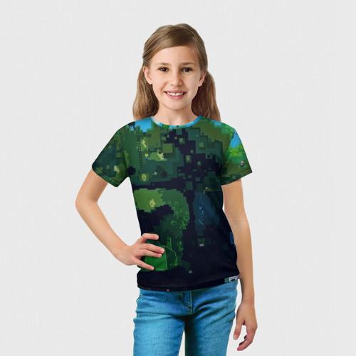 Детская футболка 3D  Фото 03, Minecraft the Game