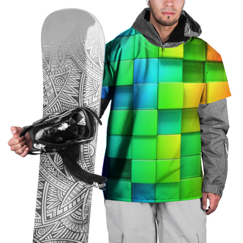 Накидка на куртку 3D  Фото 01, Пазлы