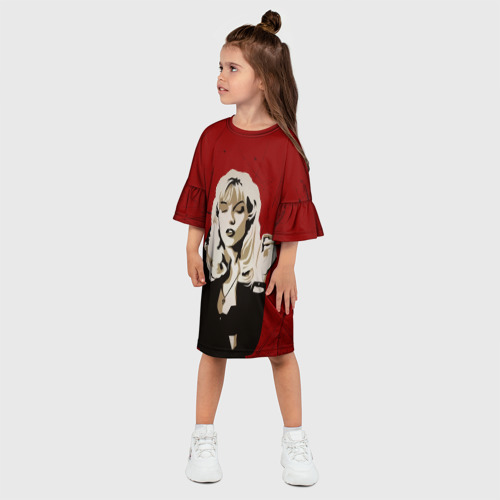 Детское платье 3D  Фото 03, Twin Peaks