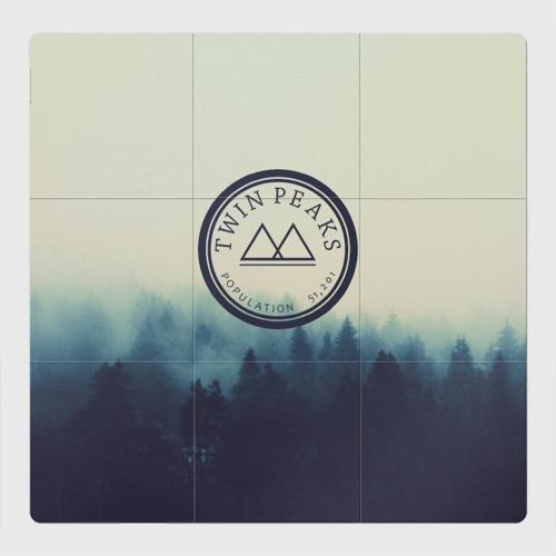 Магнитный плакат 3Х3 Twin Peaks
