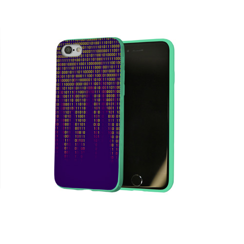 Чехол для Apple iPhone 8 силиконовый глянцевый Программа Фото 01