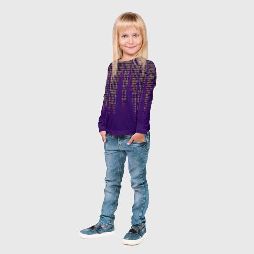 Детский лонгслив 3D Программа Фото 01