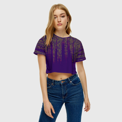Женская футболка Cropp-top Программа Фото 01