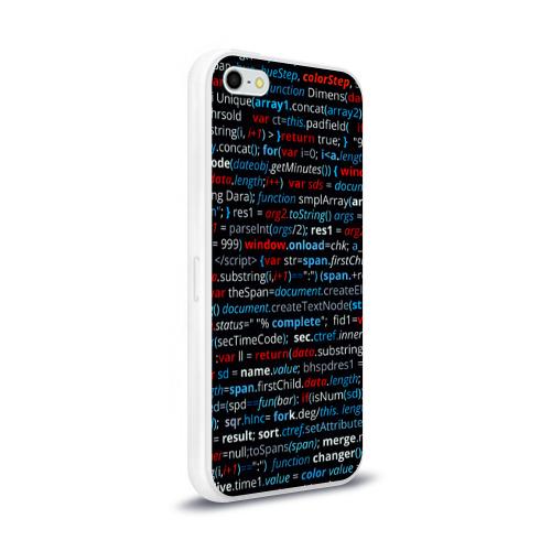 Чехол для Apple iPhone 5/5S силиконовый глянцевый  Фото 02, computer code