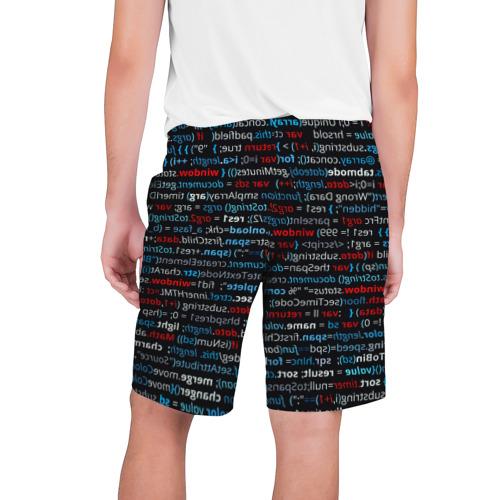 Мужские шорты 3D  Фото 02, computer code