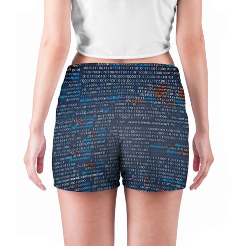 Женские шорты 3D  Фото 04, Информатика