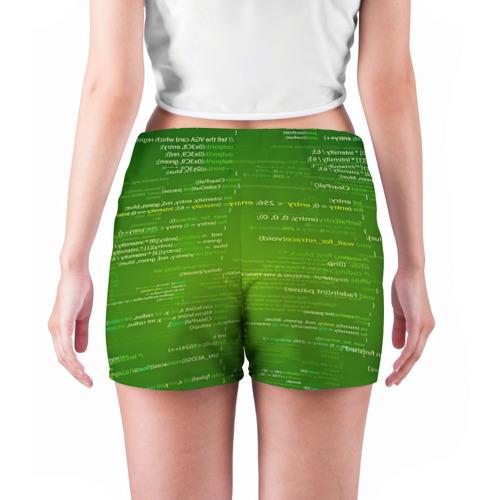 Женские шорты 3D  Фото 04, technology code