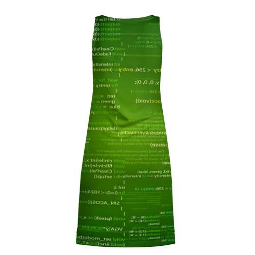 Платье-майка 3D  Фото 02, technology code