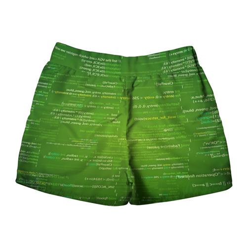 Женские шорты 3D  Фото 02, technology code