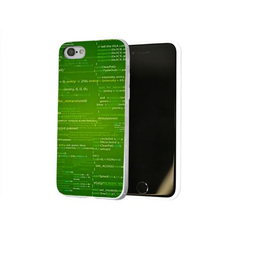 Чехол для Apple iPhone 8 силиконовый глянцевый  Фото 02, technology code