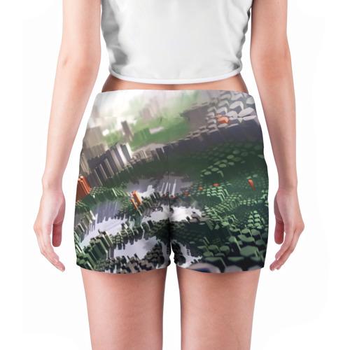 Женские шорты 3D  Фото 04, Объемный эквалайзер