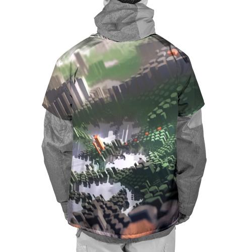 Накидка на куртку 3D  Фото 02, Объемный эквалайзер
