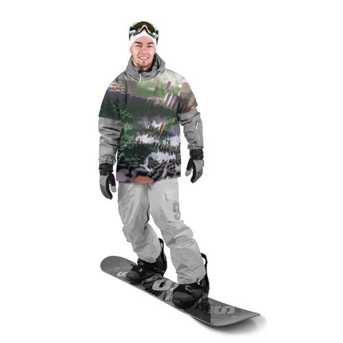Накидка на куртку 3D  Фото 03, Объемный эквалайзер