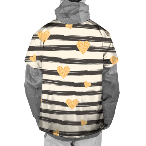 Накидка на куртку 3D  Фото 02, Сердца