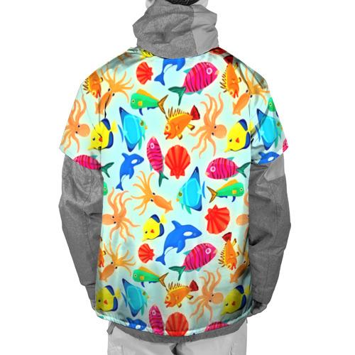 Накидка на куртку 3D  Фото 02, Рыбки
