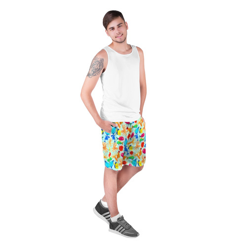 Мужские шорты 3D  Фото 03, Рыбки