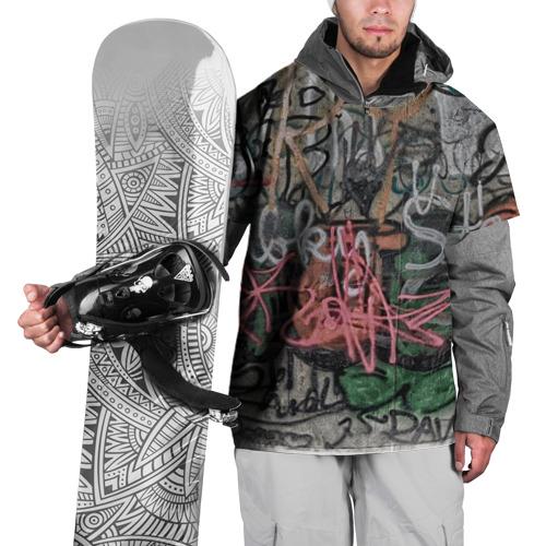 Накидка на куртку 3D  Фото 01, Граффити