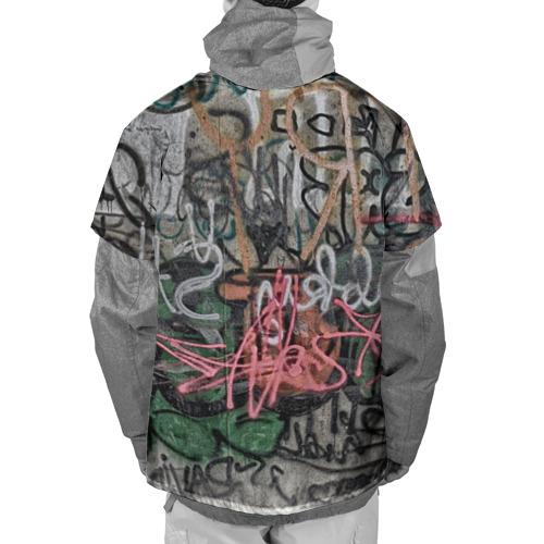 Накидка на куртку 3D  Фото 02, Граффити