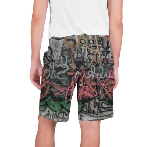 Мужские шорты 3D  Фото 02, Граффити