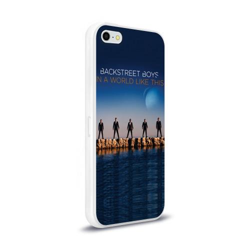 Чехол для Apple iPhone 5/5S силиконовый глянцевый  Фото 02, In A World Like This