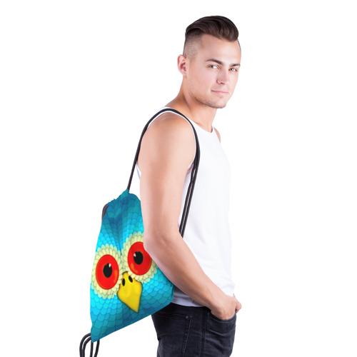 Рюкзак-мешок 3D  Фото 03, Сова