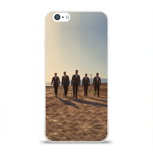 Чехол для Apple iPhone 6 силиконовый глянцевый  Фото 01, BackStreet Boys