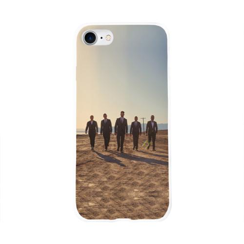 Чехол для Apple iPhone 8 силиконовый глянцевый  Фото 01, BackStreet Boys