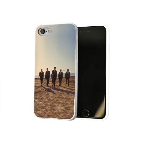 Чехол для Apple iPhone 8 силиконовый глянцевый  Фото 02, BackStreet Boys