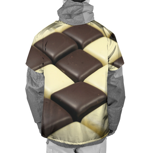 Накидка на куртку 3D  Фото 02, Шоколадные конфеты