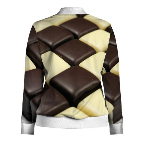 Женская олимпийка 3D  Фото 02, Шоколадные конфеты
