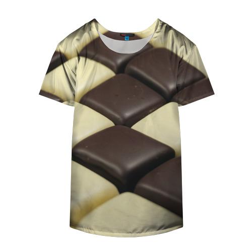 Накидка на куртку 3D  Фото 04, Шоколадные конфеты
