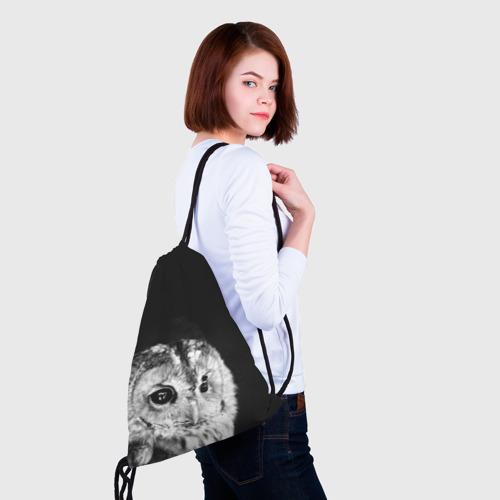 Рюкзак-мешок 3D  Фото 02, Филин