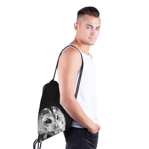 Рюкзак-мешок 3D  Фото 03, Филин