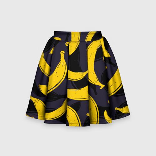 Детская юбка-солнце 3D Бананы