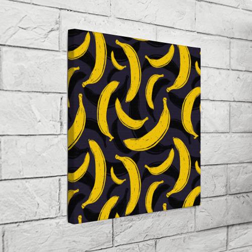 Холст квадратный  Фото 03, Бананы